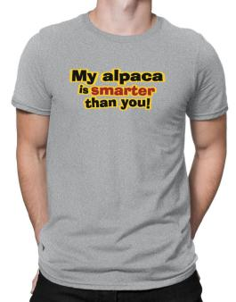 My Alpaca Is Smarter Than You! Men T-Shirt
