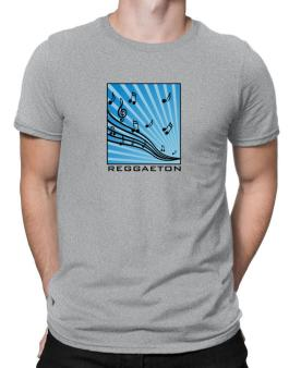 Reggaeton - Musical Notes Men T-Shirt
