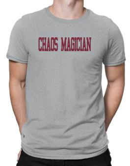 Chaos Magician - Simple Athletic Men T-Shirt