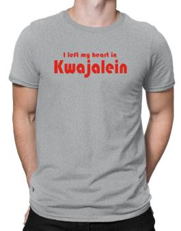 I Left My Heart In Kwajalein Men T-Shirt