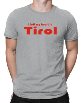 I Left My Heart In Tirol Men T-Shirt