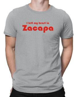 I Left My Heart In Zacapa Men T-Shirt