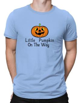 Little Pumpkin On The Way Men T-Shirt