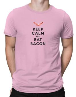 Keep calm and eat Men T-Shirt