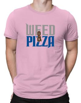 Weed & Pizza Men T-Shirt
