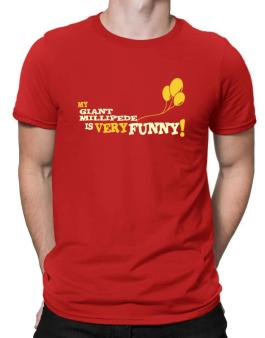 My Giant Millipede Is Very Funny Men T-Shirt