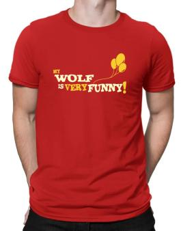 My Wolf Is Very Funny Men T-Shirt