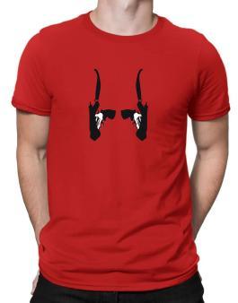 Double Gun Holster Men T-Shirt