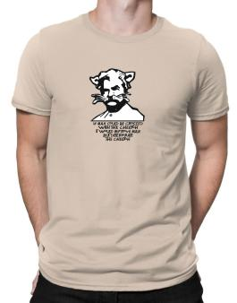 Mark Twain Cat Quote - Altered Men T-Shirt