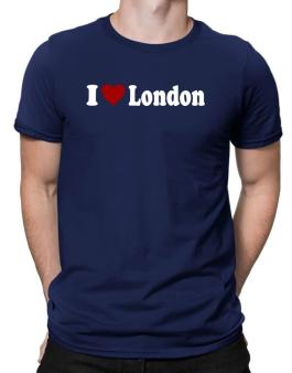 I Love London Men T-Shirt