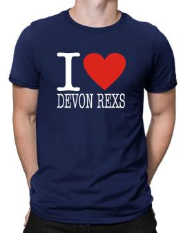 I Love Devon Rexs Men T-Shirt