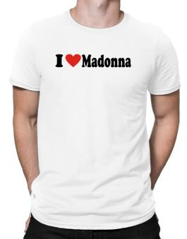 I Love Madonna Men T-Shirt