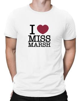I Love Ms Marsh Men T-Shirt