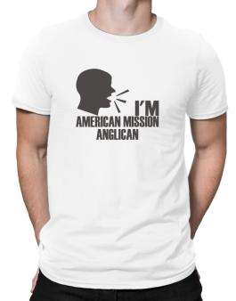 Im American Mission Anglican - Face Men T-Shirt