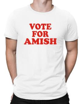 Vote For Amish Men T-Shirt