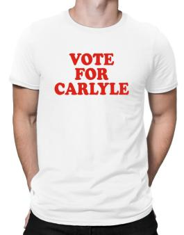 Vote For Carlyle Men T-Shirt
