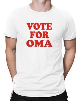 Vote For Oma Men T-Shirt