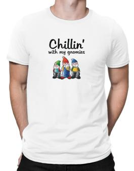Chillin With my gnomies Men T-Shirt