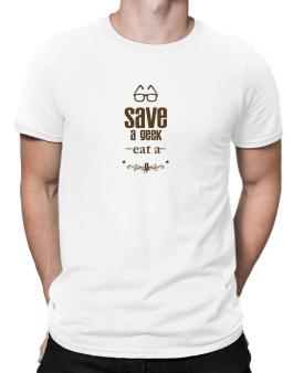 Save a geek Men T-Shirt