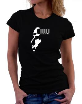Canada - Barcode With Face Women T-Shirt