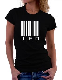 Leo Barcode / Bar Code Women T-Shirt