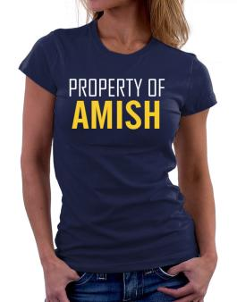 Property Of Amish Women T-Shirt