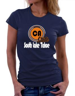 South Lake Tahoe - State Women T-Shirt