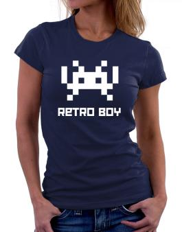 Retro Boy Women T-Shirt