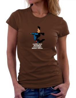 Worlds Best Aboriginal Community Liaison Officer - Superhero Women T-Shirt
