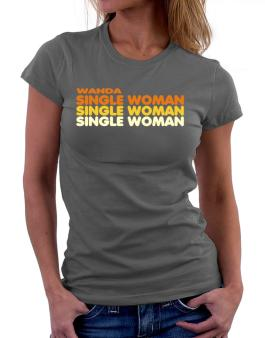 Wanda Single Woman Women T-Shirt