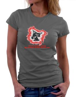 I Love My American Wirehair. My American Wirehair Doesnt Care. Women T-Shirt