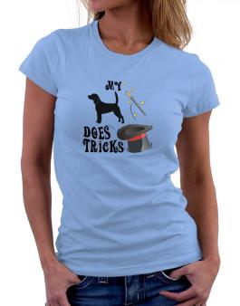My Beagle Does Tricks ! Women T-Shirt