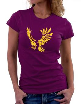 Eagle With Open Wings Women T-Shirt