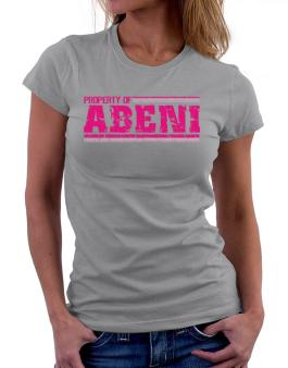 Property Of Abeni - Vintage Women T-Shirt