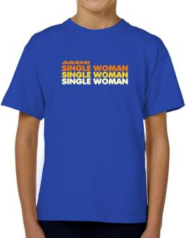 Abeni Single Woman T-Shirt Boys Youth