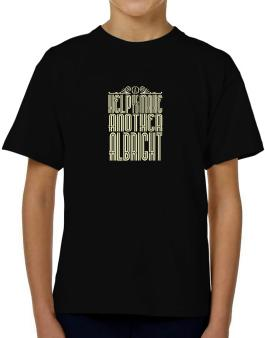 Help Me To Make Another Albright T-Shirt Boys Youth
