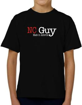 Guy Made In Asheville T-Shirt Boys Youth