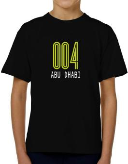 Iso Code Abu Dhabi - Retro T-Shirt Boys Youth