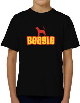 Breed Color Beagle T-Shirt Boys Youth