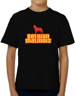 Breed Color Belgian Malinois T-Shirt Boys Youth