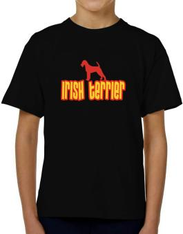 Breed Color Irish Terrier T-Shirt Boys Youth