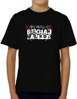 My Best Friend Is Belgian Malinois T-Shirt Boys Youth