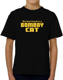 My Best Friend Is A Bombay T-Shirt Boys Youth