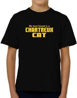 My Best Friend Is A Chartreux T-Shirt Boys Youth