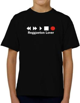 Reggaeton Lover T-Shirt Boys Youth
