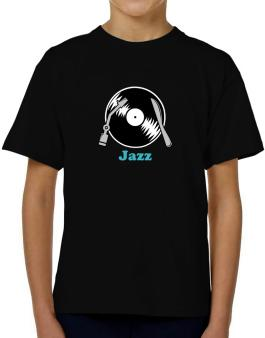 Jazz - Lp T-Shirt Boys Youth
