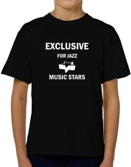 Exclusive For Jazz Stars T-Shirt Boys Youth