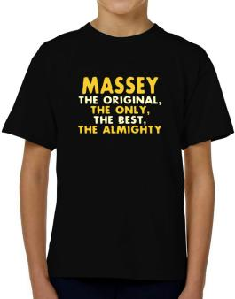 Massey The Original T-Shirt Boys Youth