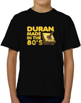 Duran Made In The 80s T-Shirt Boys Youth