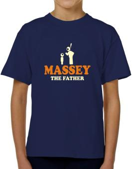 Massey The Father T-Shirt Boys Youth